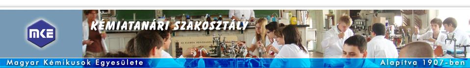 A Magyar Kémikusok Egyes�lete Kémiatanári Szakosztályának honlapja